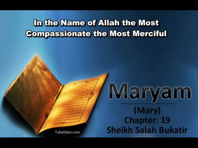 Surat Maryam (Mary) -Translation of The Meanings.