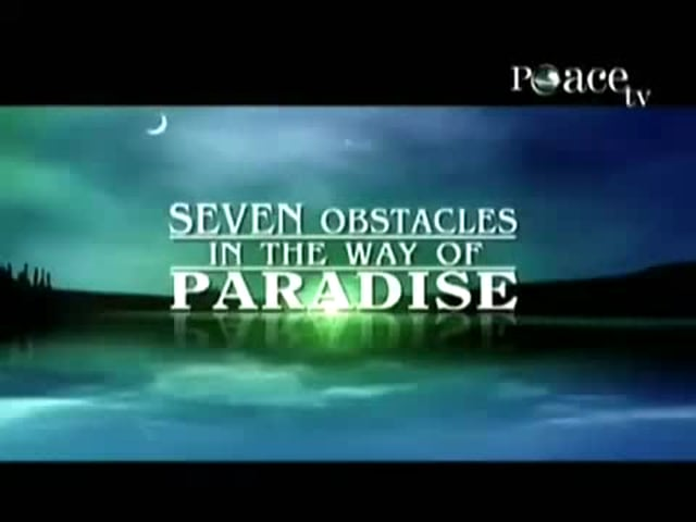 Sh Salem alAmry 7 obstacles in the way of paradise
