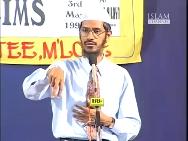 Media and Muslims by Dr.Zakir naik-Part 5 of 13.