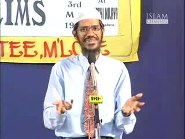 Q&A Session:Media and Muslims by Dr.Zakir Naik.Part 10/13