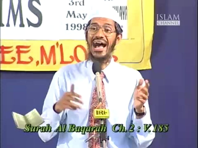 Q&A Session:Media and Muslims by Dr.Zakir naik-Part 12 of 13.