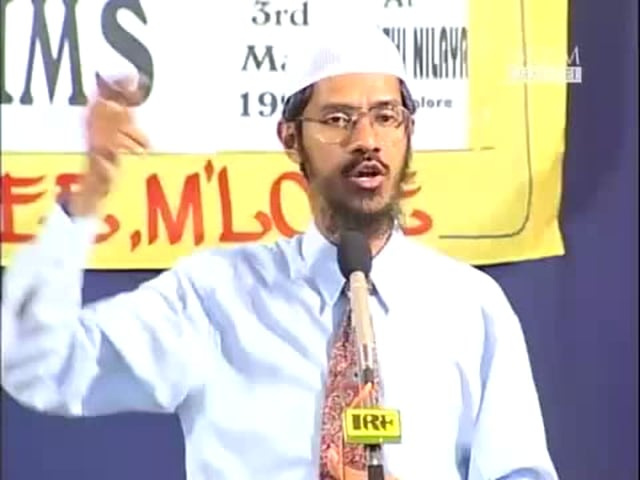 Q&A Session:Media and Muslims by Dr.Zakir naik-Part 13 of 13.