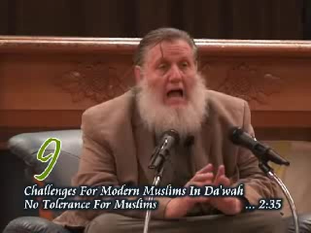 P9 -  No Tolerance For Muslims - Sh yusuf Estes