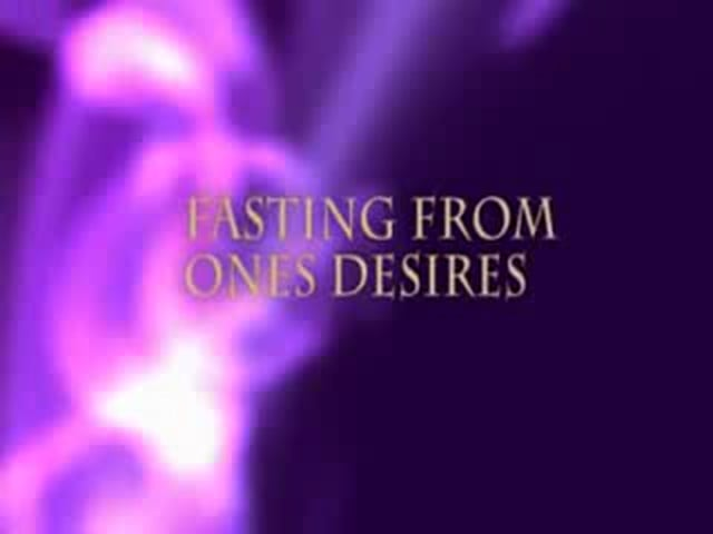 Fasting from One's desires part 1 - Br. Bilal Assad