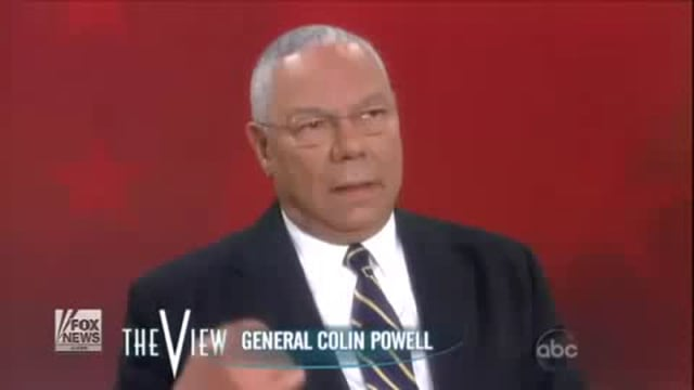 WTC Mosque OK - Collin Powell