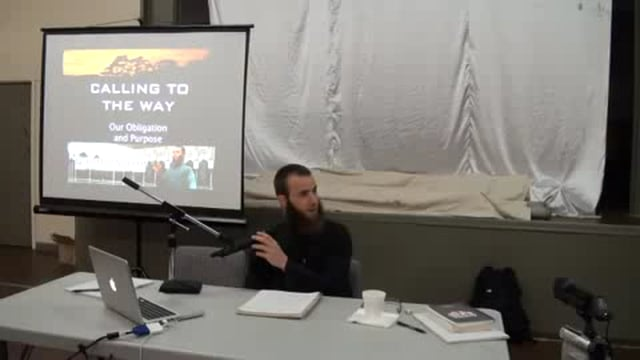 Dawah Workshop Part 1 - Br. Yusha Evans