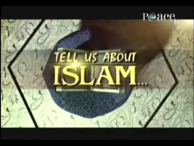 Tell us about islam (part 1) God consciousness