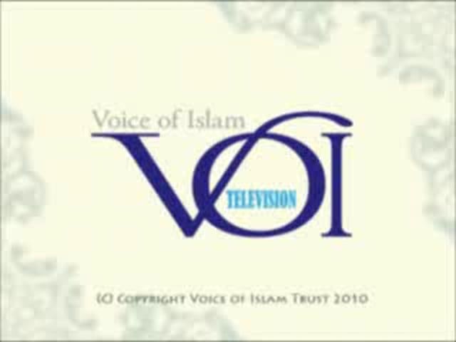 Voice of Islam TV 13 November 2010 Program