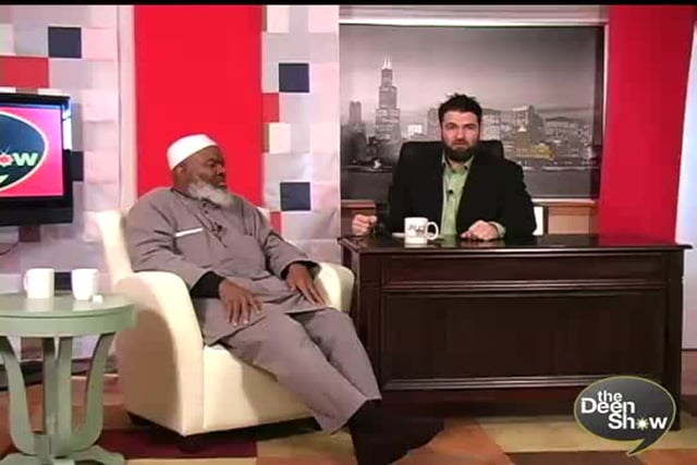 First Muslim to open for Congress and former Christian and nation of Islam leader on TheDeenShow